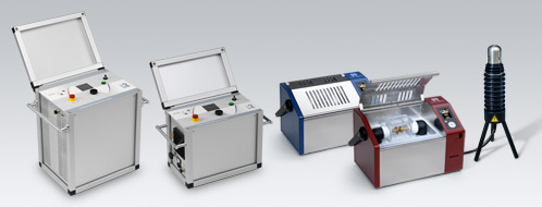 b2hv high voltage cable testing, cable diagnostics and oil testing product range